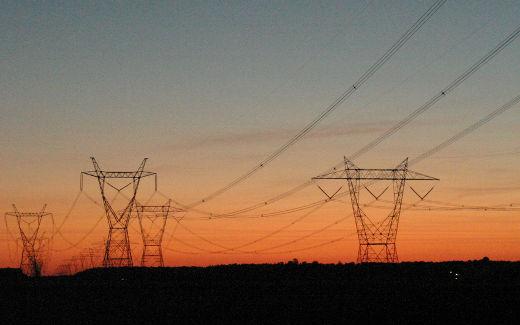 pylones electriques, energie electrique