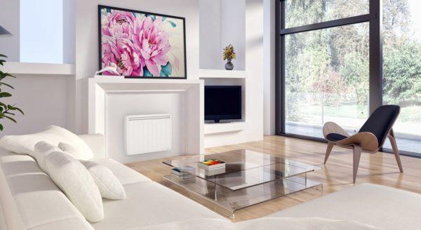 salon avec un chauffage central electrique
