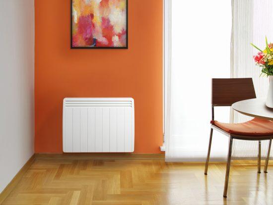 salle à manger - radiateur à inertie Aterno