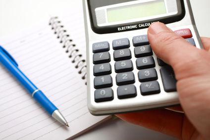 calculatrice carnet crayon