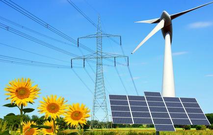 electricite origine solaire eolienne renouvelable