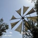 Une nouvelle éolienne à voile