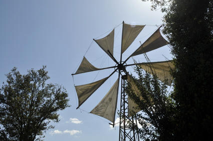 eolienne a voile
