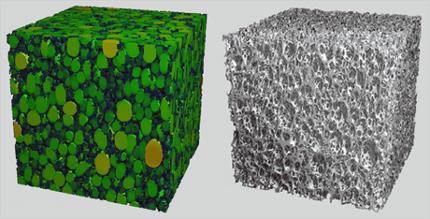 materiaux alveolaires tanin