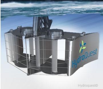 hydrolienne Hydroquest