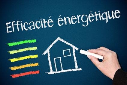 efficacité énergétique sur tableau noir