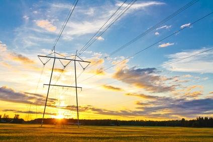 Réseau électrique en été