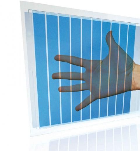 Cellule solaire transparente Heliatek