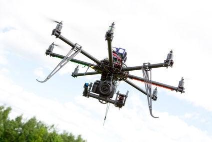 Drones et réseau électrique