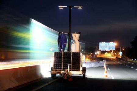 eolienne panneaux solaires eclairage