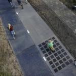 La piste cyclable solaire SolaRoad