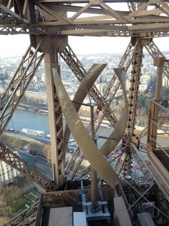 Eoliennes sur la Tour Eiffel