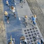 La piste cyclable SolaRoad est un véritable succès