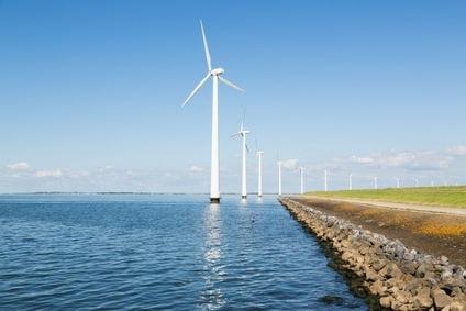 eoliennes offshore - energies renouvelables marines