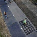 Innovation:découvrez les routes qui produisent de l'énergie