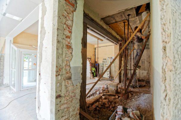 travaux de renovation interieur