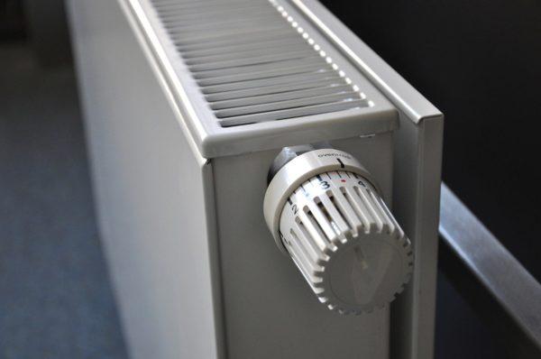 radiateur avec vanne thermostatique
